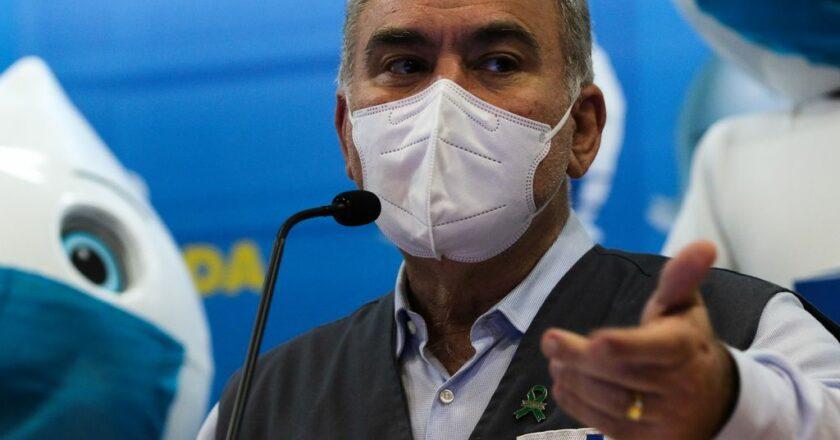 Ministro Marcelo Queiroga. Foto Fabio Rodrigues-Pozzebom/Agência Brasil